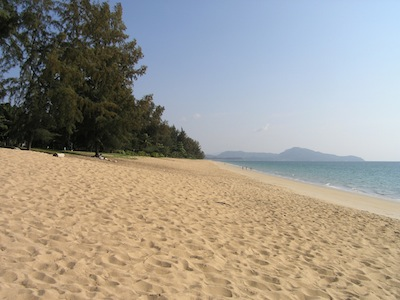 Mai Khao Beach in February