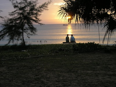 Mai Khao Beach in January